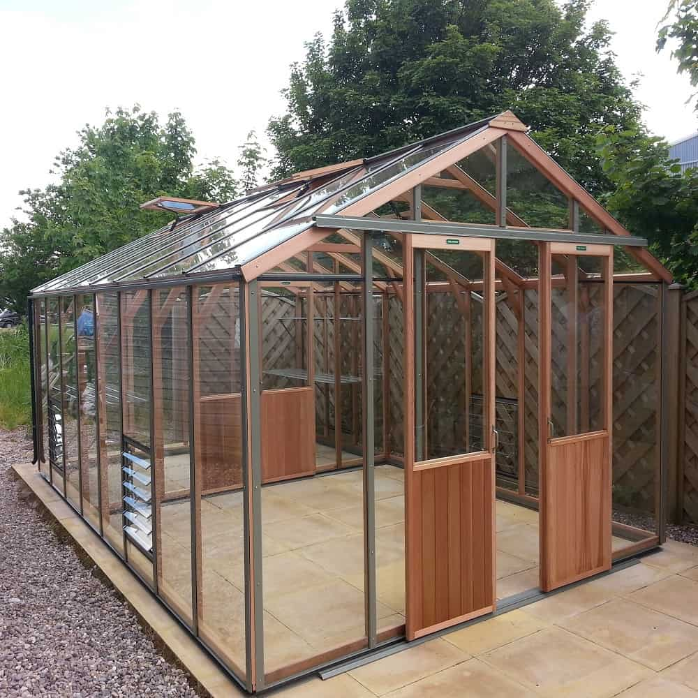 Alton Evolution 10 x 16 Greenhouse