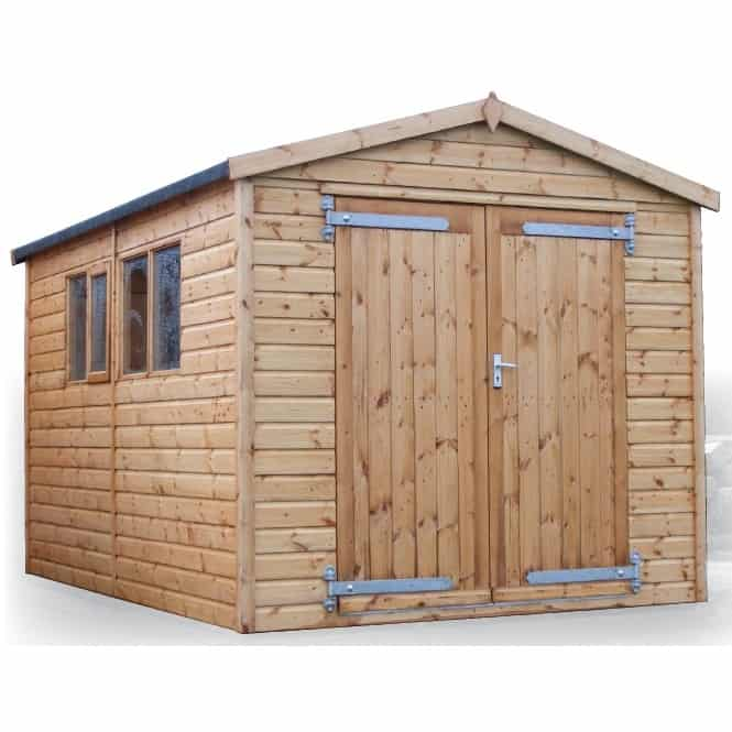 Barnwell Apex Wooden Shed & Workshop By A&J