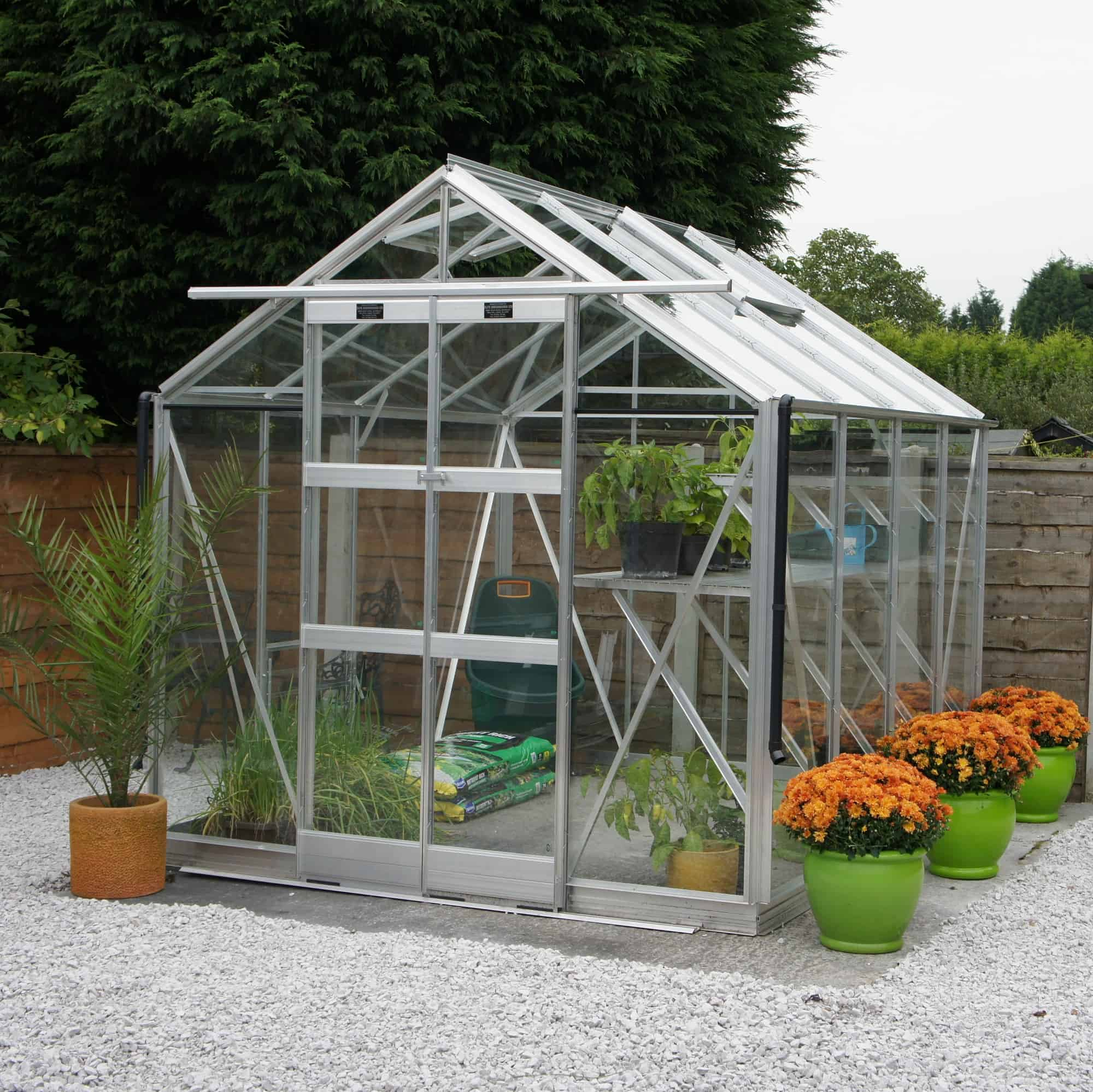 Elite Vantage Aluminium Greenhouse By Elite