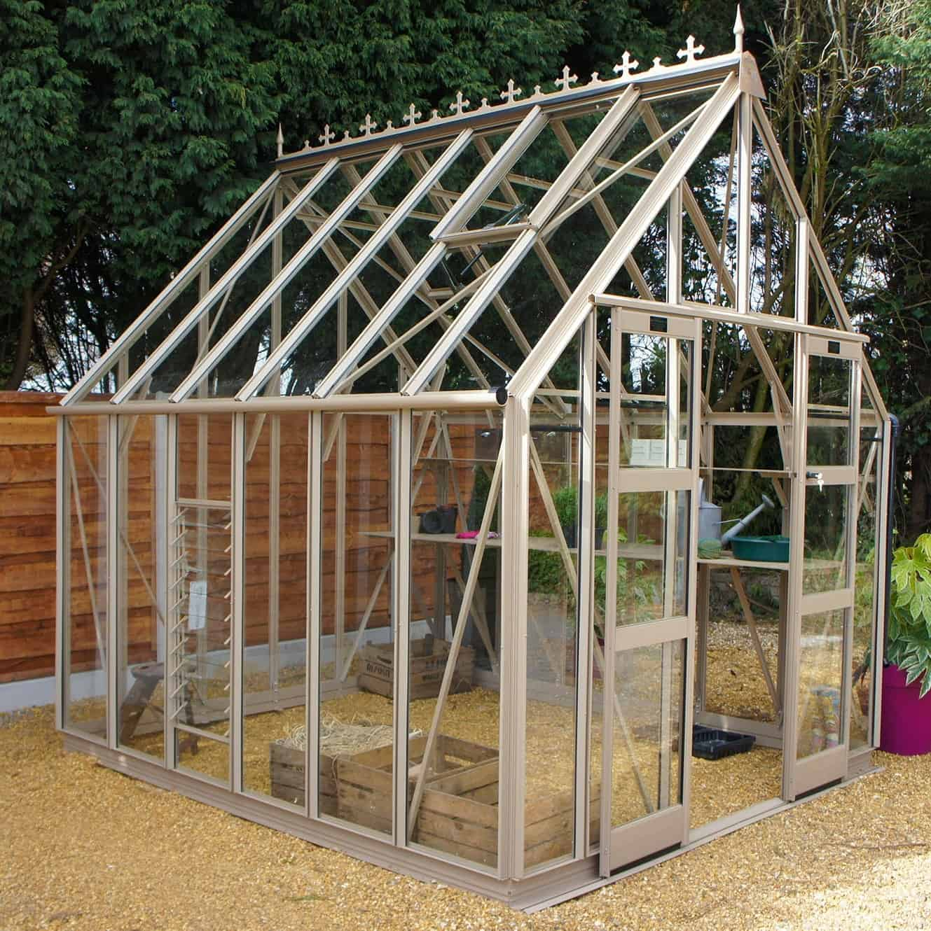 Elite Zenith 800 Aluminium Greenhouse