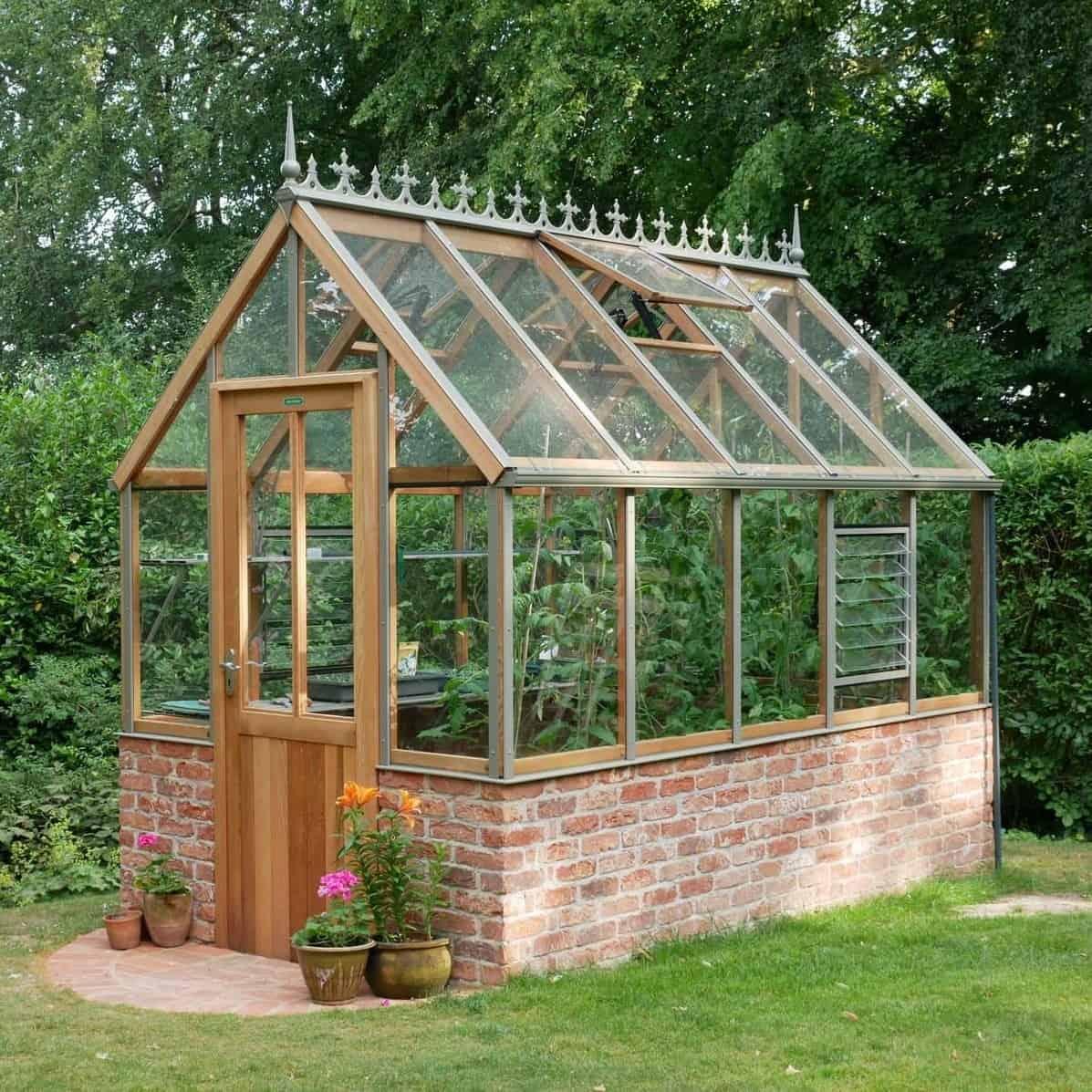 Eton Alton Victorian Greenhouse 6 x 10