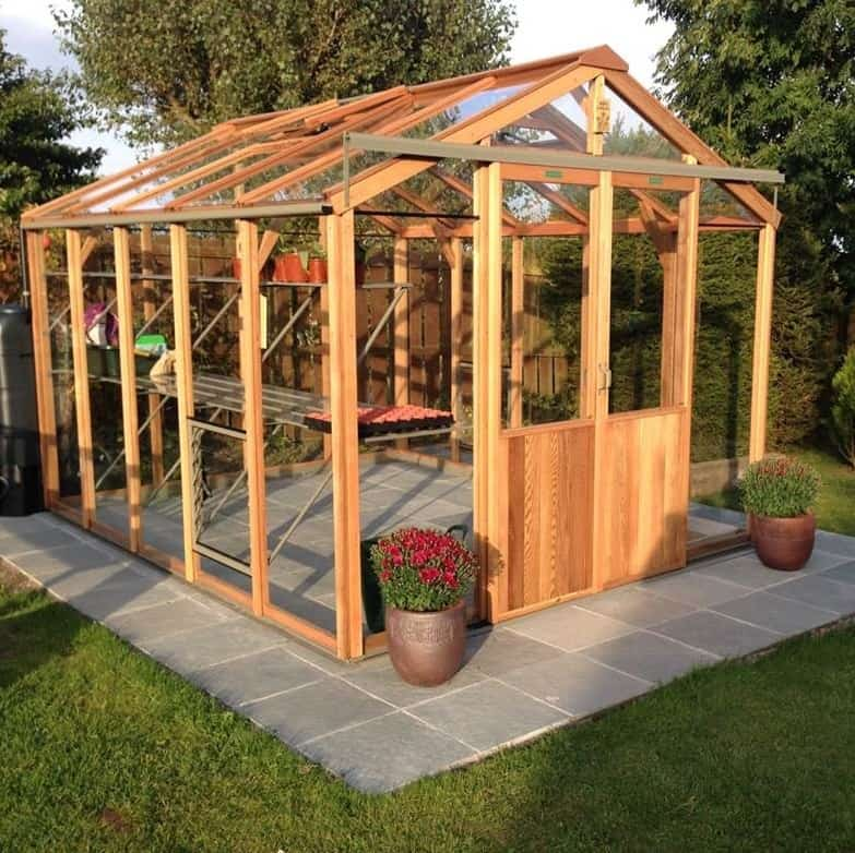 Evolution Eight Cedar Greenhouse by Alton
