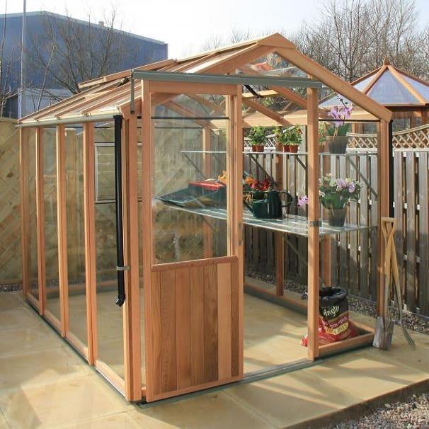 Evolution Six Cedar Greenhouse by Alton