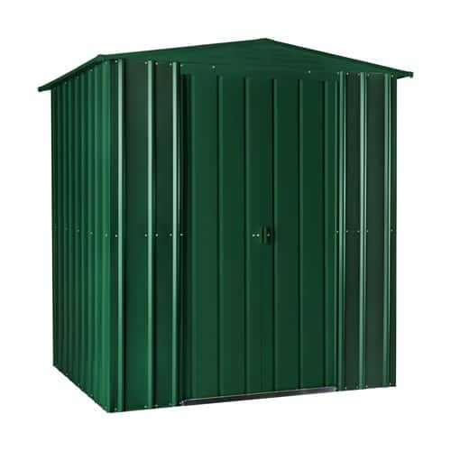 Lotus 6 Apex Metal Shed Solid Green