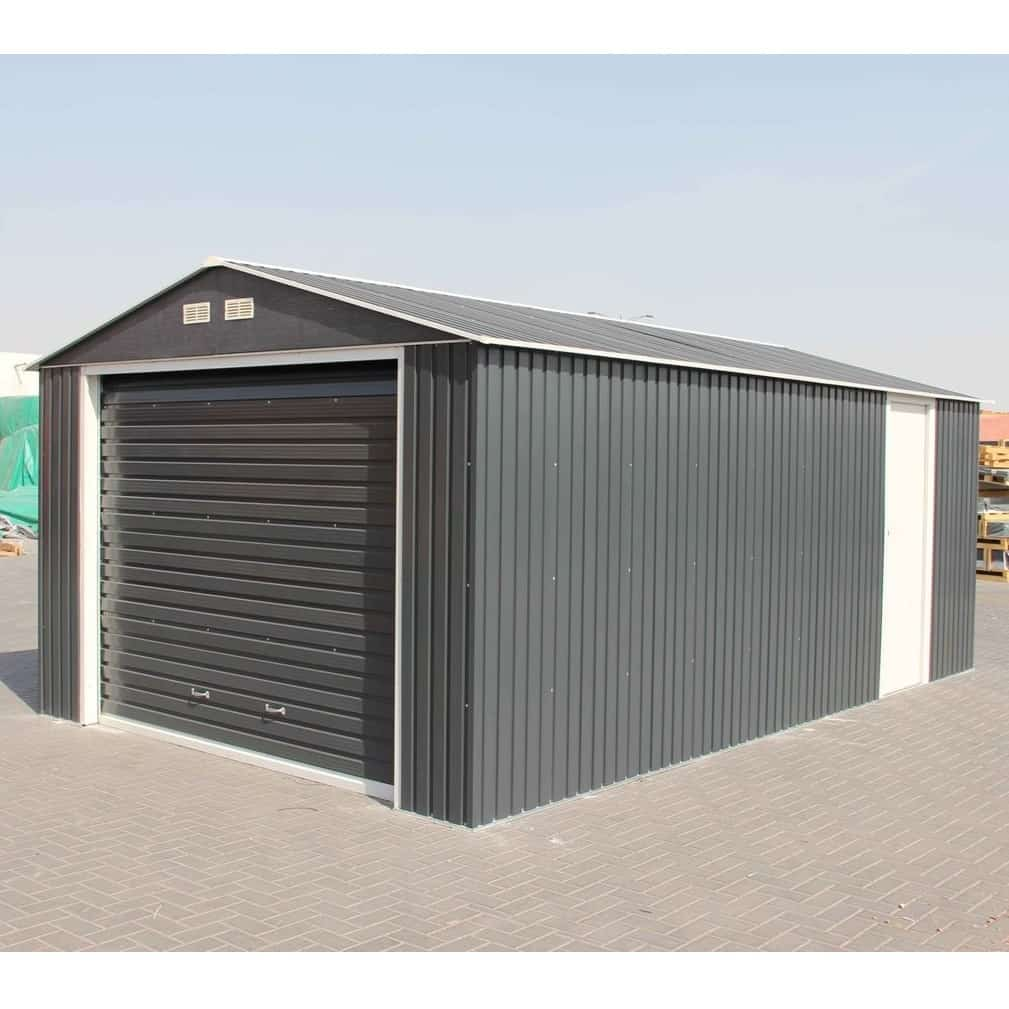 Olympian Metal Garage 12′ Wide