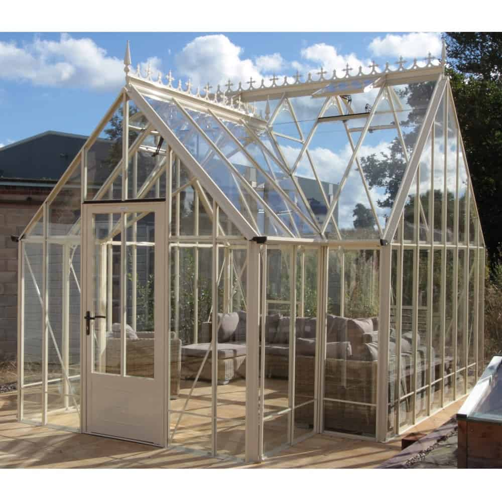 Reicliffe Porch Victorian Greenhouse Ivory