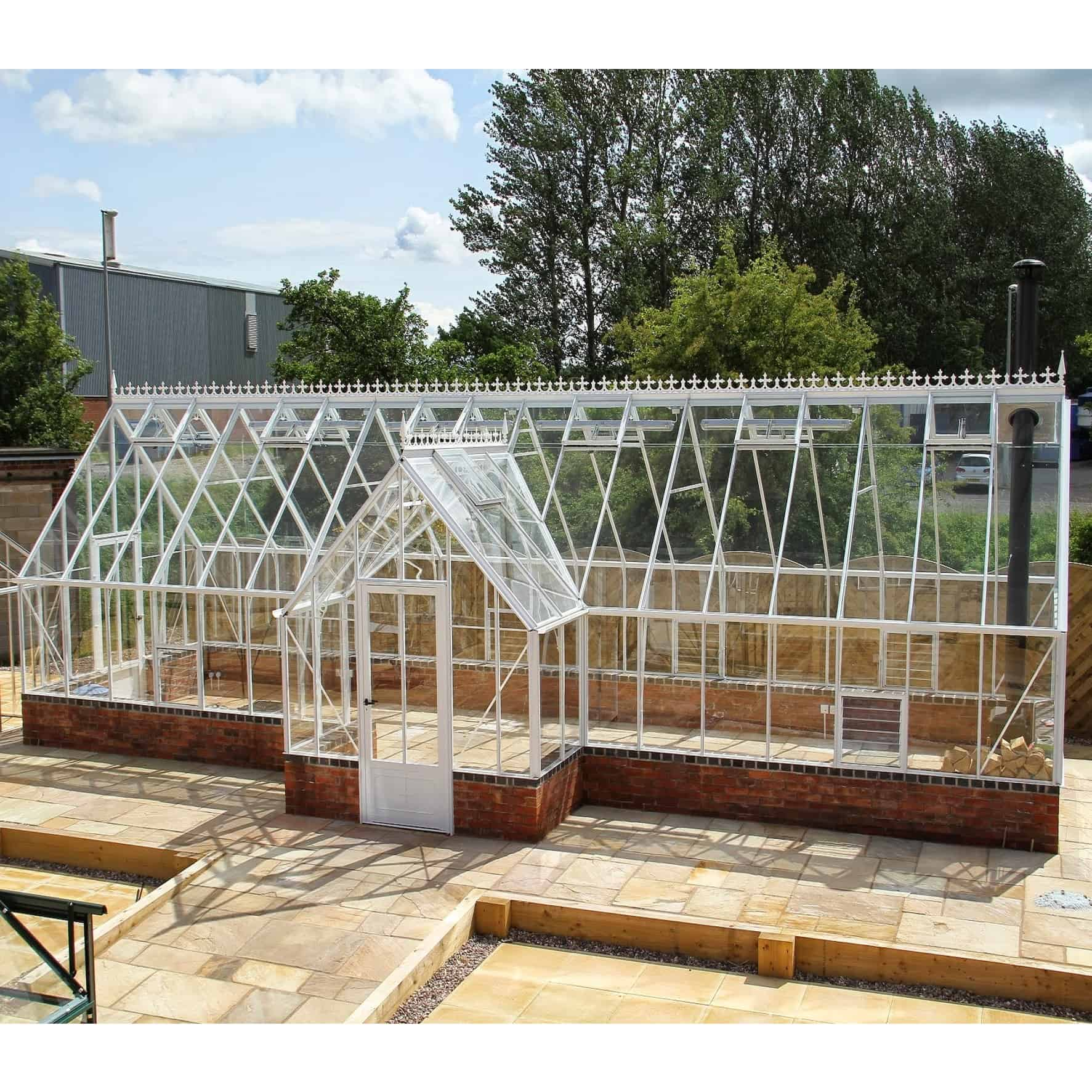 Robinsons Roemoor Porch Dwarf Wall Victorian Greenhouse
