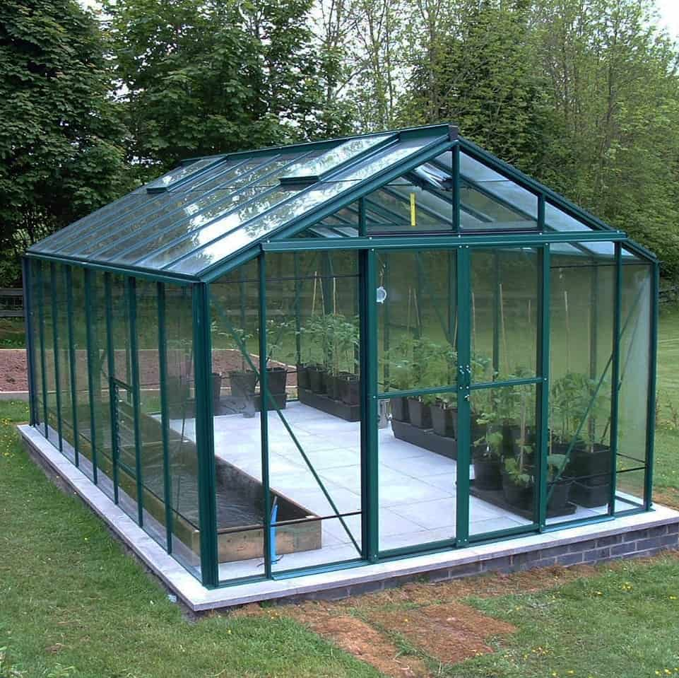 Robinsons Rosette Greenhouse 10 x 16