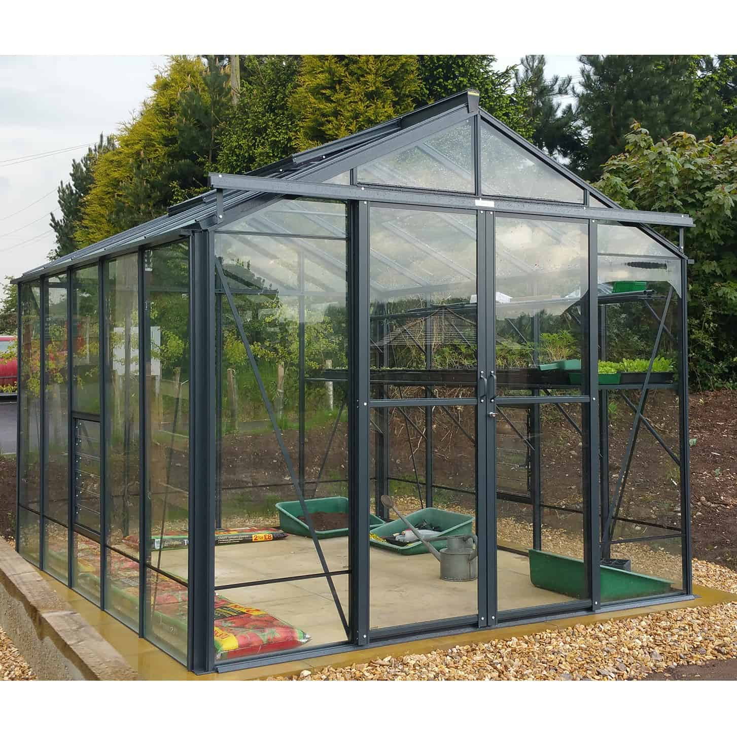 Robinsons Royale Greenhouse Anthracite