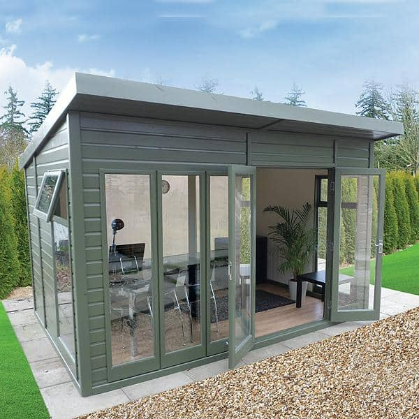 Studio Pent Insulated Garden Room By Malvern