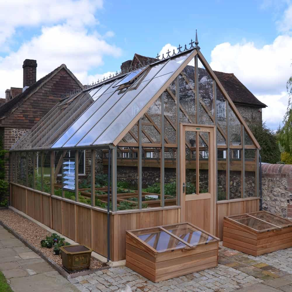 Westminster Victorian Greenhouse by Alton Greenhouses