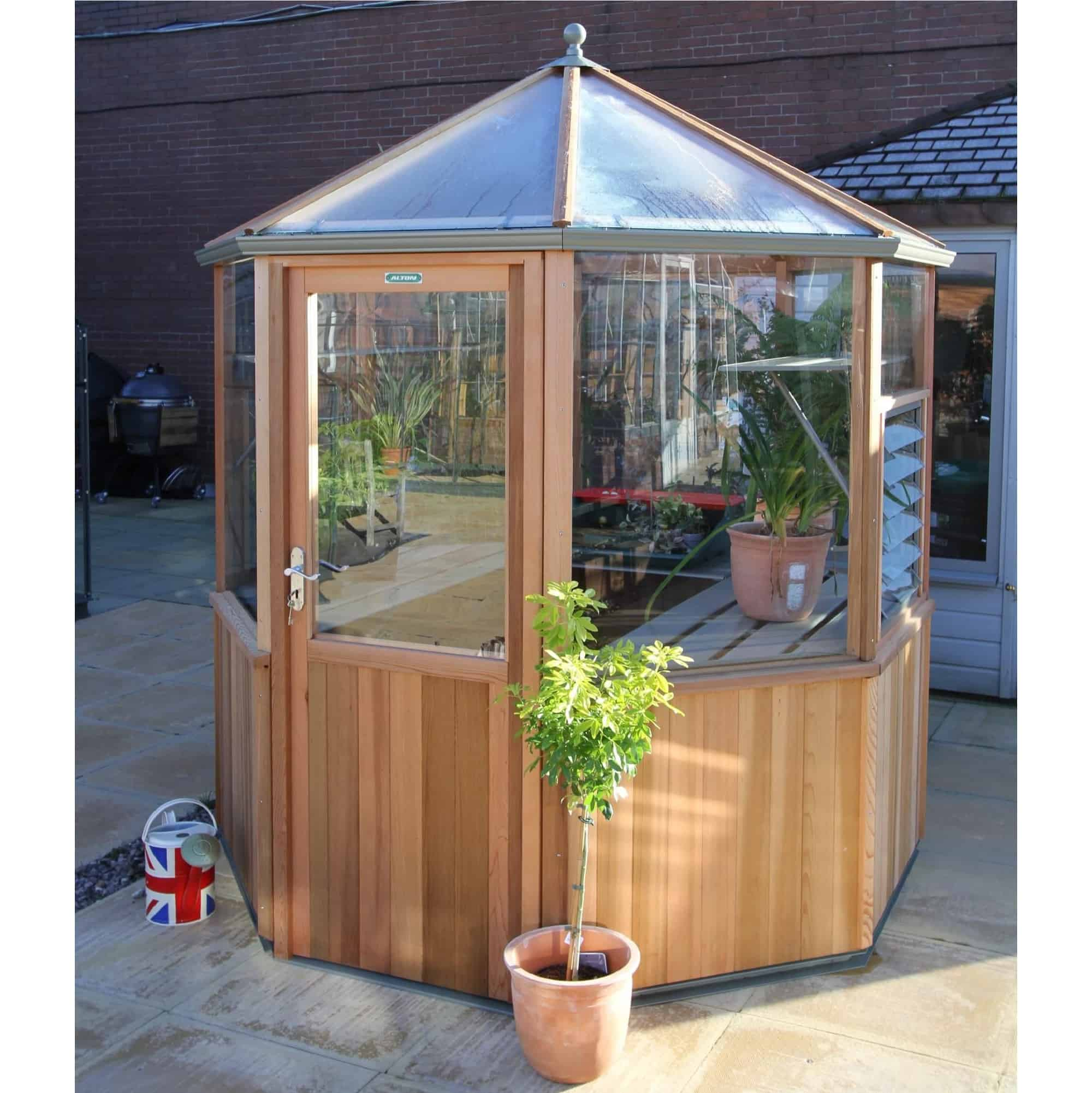 Alton Octagonal Greenhouse 6 x 6