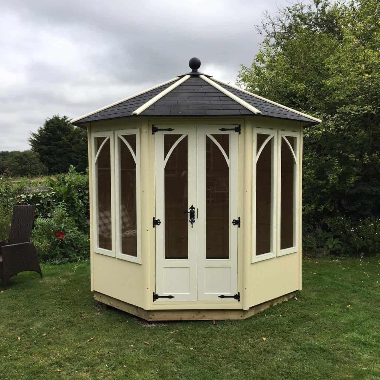 8 x 8 A&J Doddington Octagonal Summerhouse