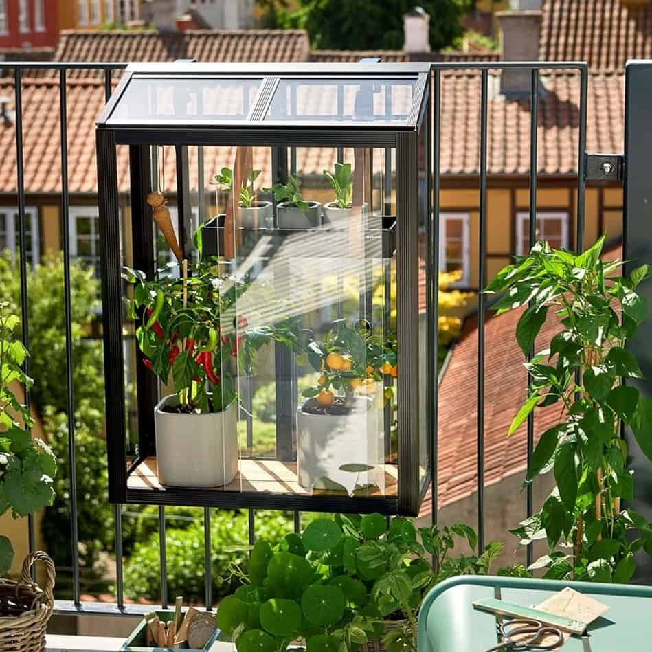 Urban Balcony Greenhouse By Juliana