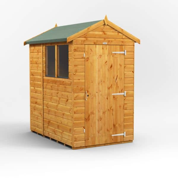 6 x 4 Express Apex By Power Sheds