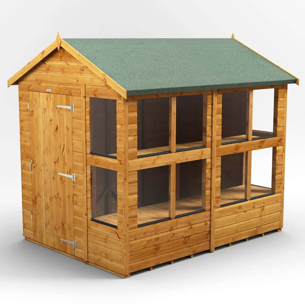 Express Power Apex Potting Shed 8′ Long